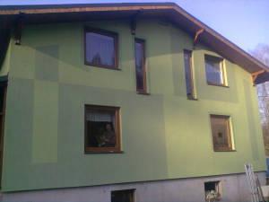 Zateplení rodinného domu v Bystřici